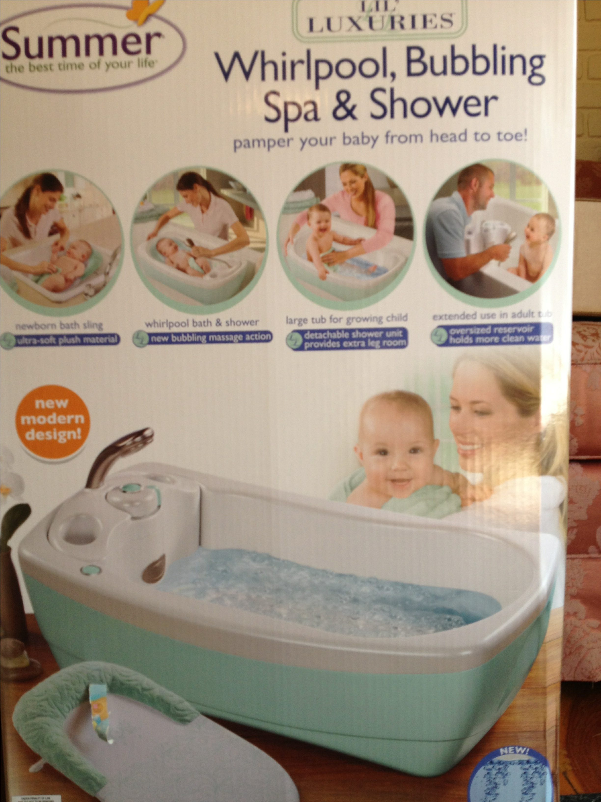 baby bath review | the daddy adjustment